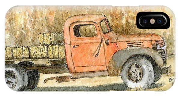 Old Dodge Truck In Autumn IPhone Case