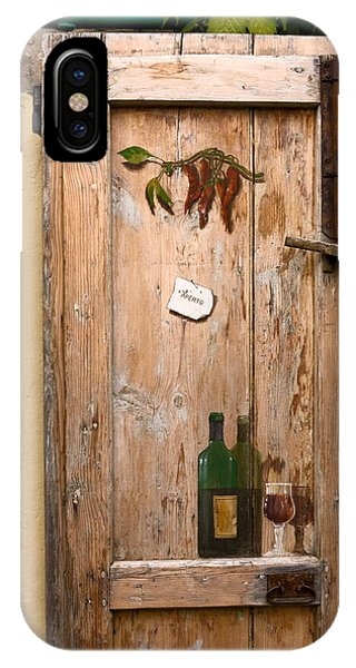 Old Door And Wine IPhone Case