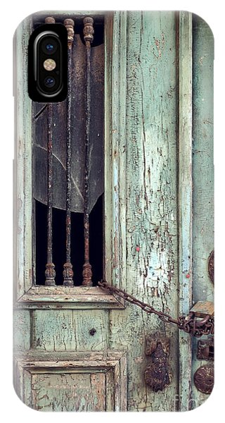Oxidized iPhone Case - Old Door Detail by Carlos Caetano