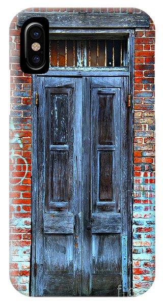 Old Door With Bricks IPhone Case