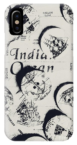 Navigation iPhone Case - Old East India Trading Routes by Jorgo Photography - Wall Art Gallery