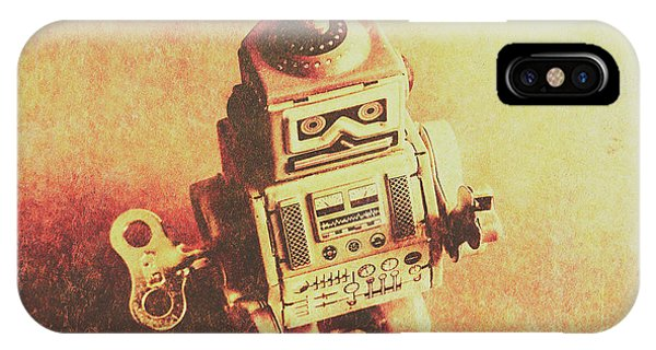 Technological iPhone Case - Old Electric Robot by Jorgo Photography - Wall Art Gallery