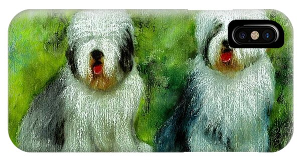 Old English Sheepdog IPhone Case