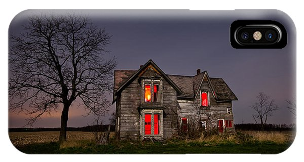 Abandoned Houses iPhone Case - Old Farm House by Cale Best