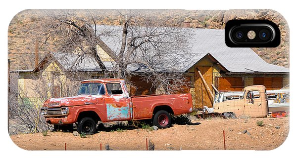 Old Farm Trucks Along Route 66 IPhone Case