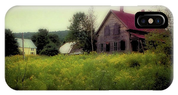 Old Farmhouse - Woodstock, Vermont IPhone Case