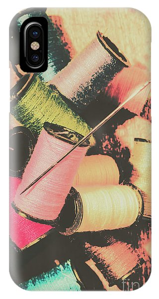 Clothing iPhone Case - Old Fashion Threads by Jorgo Photography - Wall Art Gallery
