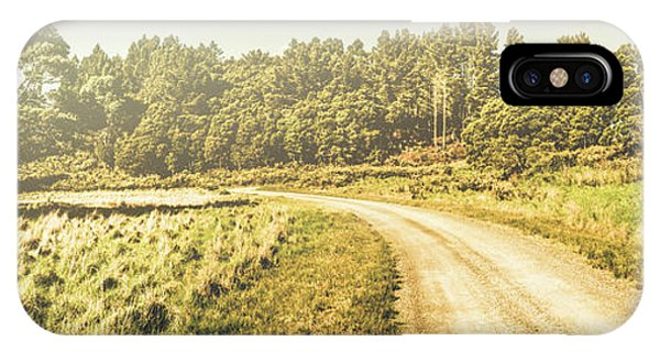 Nature Scene iPhone Case - Old-fashioned Country Lane by Jorgo Photography - Wall Art Gallery