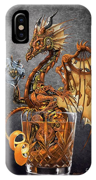 Old Fashioned Dragon IPhone Case