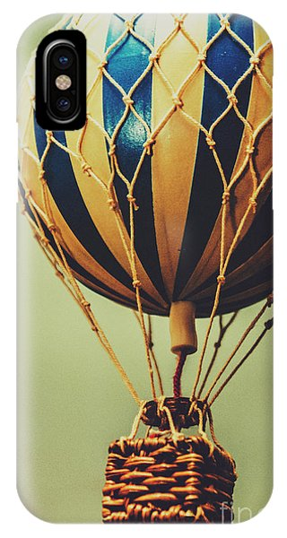 Hot Air Balloons iPhone Case - Old-fashioned Exploration by Jorgo Photography - Wall Art Gallery