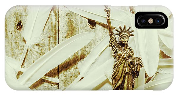 Monument iPhone Case - Old-fashioned Statue Of Liberty Monument by Jorgo Photography - Wall Art Gallery