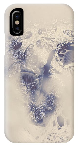 Shrouds iPhone Case - Old-fashioned Venice Mask by Jorgo Photography - Wall Art Gallery