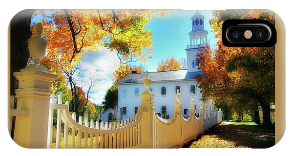 Old First Church Of Bennington IPhone Case