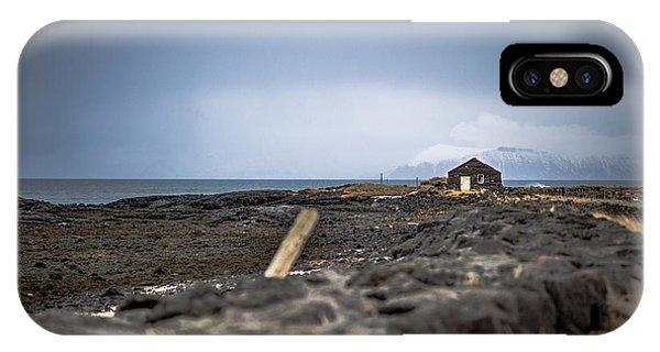 Old Fisherman's Coastal House IPhone Case