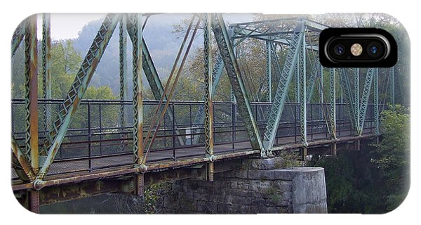 Old Foot Bridge IPhone Case