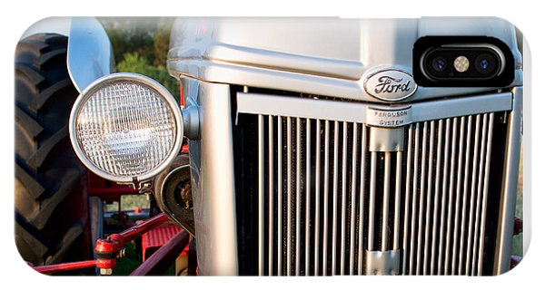 Ford Tractor 9n Tractor Front IPhone Case