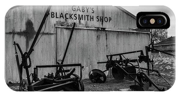 Old Frisco Blacksmith Shop IPhone Case