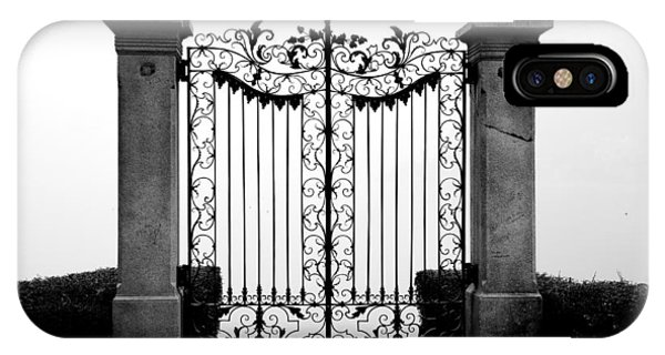 Old Gate IPhone Case