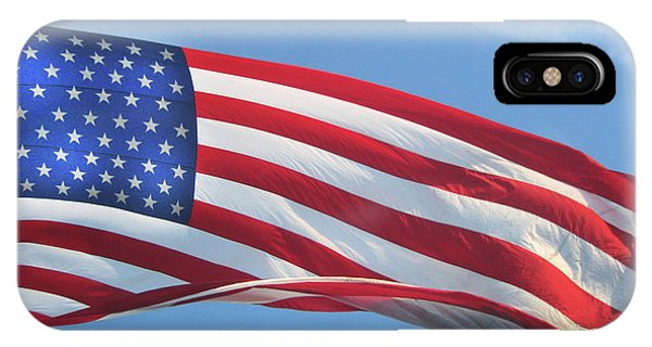 Old Glory Never Fades IPhone Case