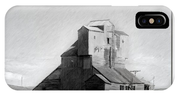 Old Grain Elevator IPhone Case