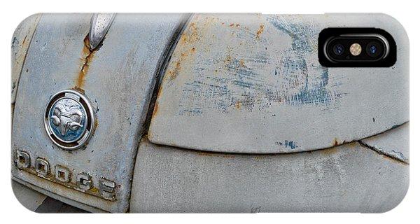 Old Gray Ram IPhone Case