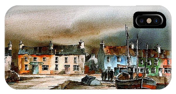 Old Harbour Dingle, Kerry IPhone Case