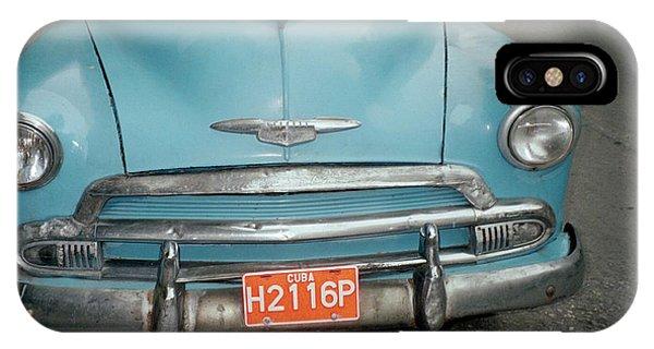 Old Havana Cab IPhone Case