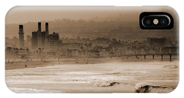 Old Hermosa Beach IPhone Case