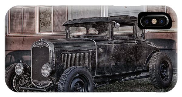 Auto Show iPhone Case - Old Hot Rod by Joachim G Pinkawa