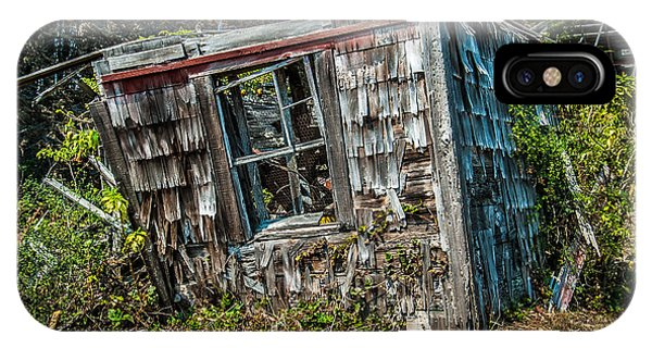 Old House Fort Ross Sonoma County California IPhone Case