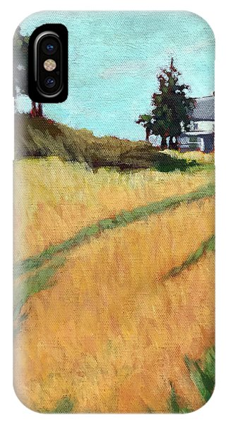 Old House On The Hill IPhone Case