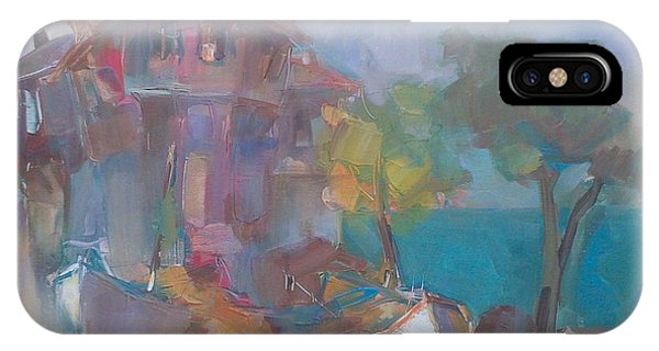Old House With Boats IPhone Case