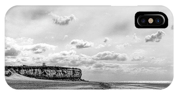 Sky iPhone Case - Old Hunstanton Beach, Norfolk by John Edwards