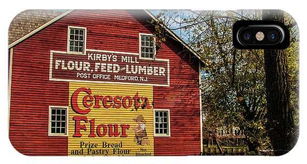 Old Kirby's Flower Mill IPhone Case