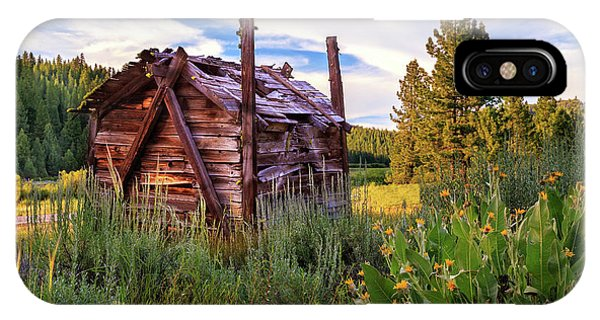 Old Lumber Mill Cabin IPhone Case