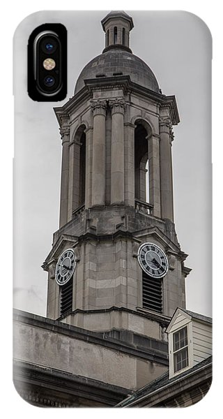Old Main Penn State Clock  IPhone Case