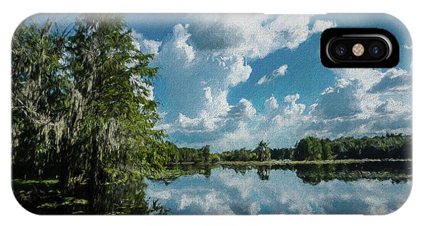Treeline iPhone Case - Old Man River by Marvin Spates