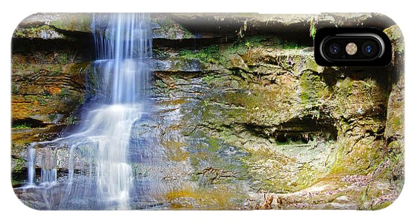 Old Man's Cave Waterfall IPhone Case