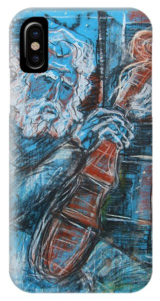 Old Man's Violin IPhone Case
