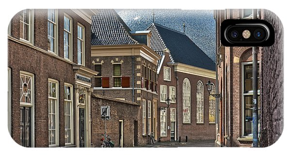 Old Meets New In Zwolle IPhone Case
