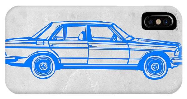 Beetle iPhone Case - Old Mercedes Benz by Naxart Studio