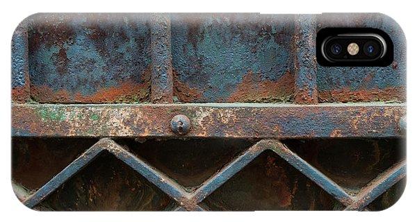 Ironwork iPhone Case - Old Metal Gate Detail by Elena Elisseeva