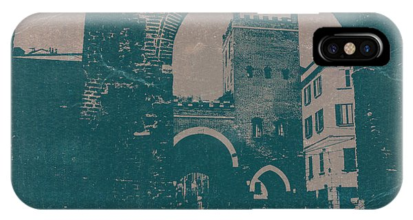 Medieval iPhone Case - Old Milan by Naxart Studio