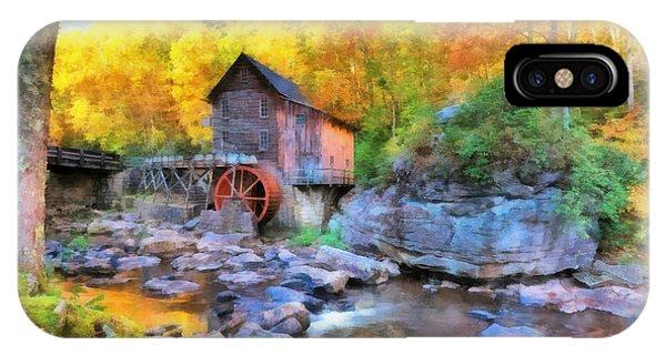 Old Mill Aquarelle IPhone Case