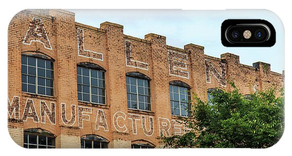 IPhone Case featuring the photograph Old Mill Building In Buford by Doug Camara