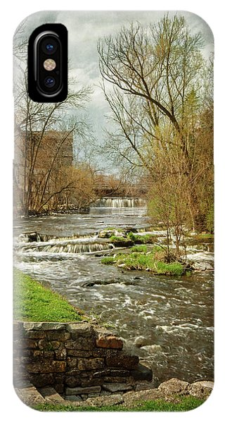 Old Mill On The River IPhone Case