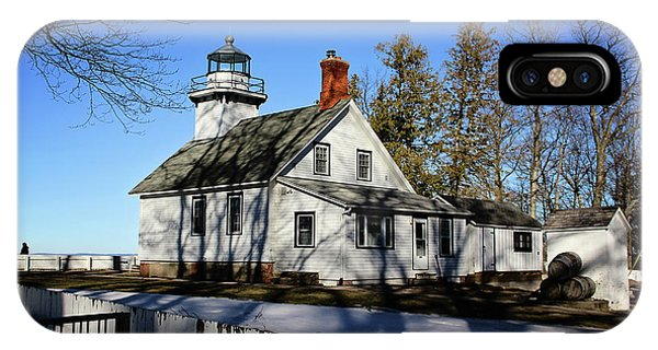Old Mission Lighthouse IPhone Case