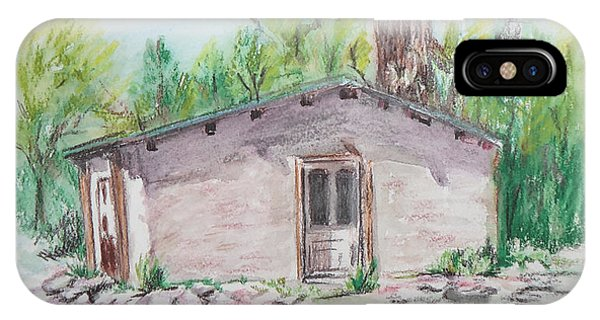 Old New Mexico House IPhone Case