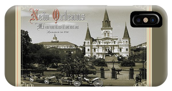 Old New Orleans Louisiana - Founded 1718 IPhone Case