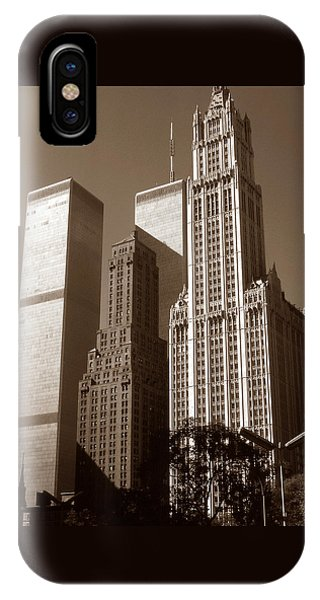 Old New York Photo - Woolworth Building IPhone Case